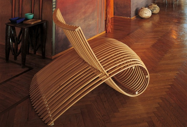Amazing Wooden Chair Concept