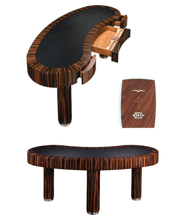 The Kidney Shaped Desk is actually an elegant addition to any office