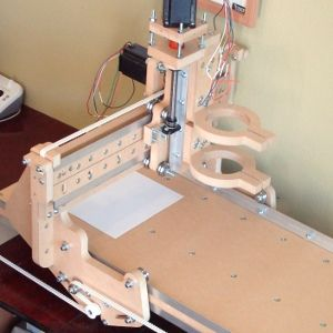 homemade wood carving machine