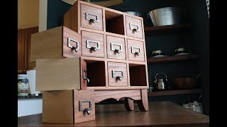 apothecary cabinet reminiscent