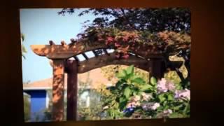 arbor planter box
