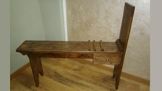 artist bench easel