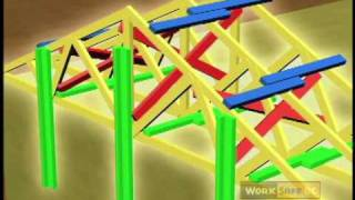 attic truss span table
