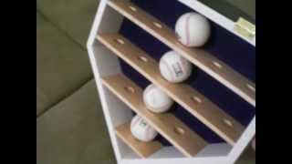 baseball display case woodworking plans