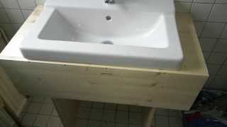 bathroom sink cabinet plans