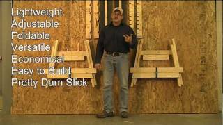best sawhorse design
