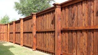 board fence designs