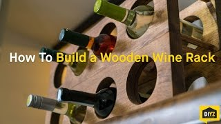 build a lattice front wine cabinet