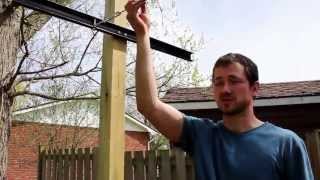 build garden trellis
