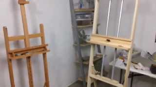 build your own art easel