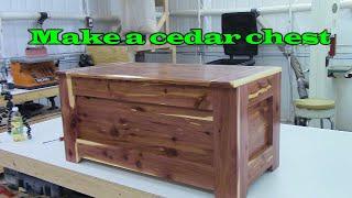 building plans cedar chest