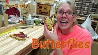butterfly cross scroll saw pattern