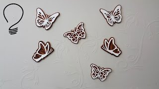 butterfly scroll saw patterns free