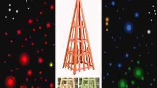 cedar pyramid trellis 81 inch