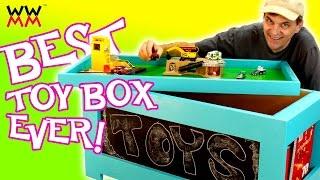 childrens toy box designs