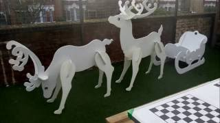 christmas reindeer woodworking plans