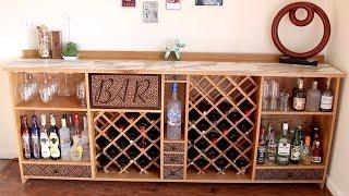 corner wine cabinet bar