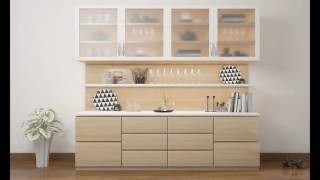 Crockery Cabinet Designs Images