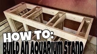 custom built aquarium stands