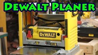 dewalt thickness planer dw734 reviews - Woodworking Challenge