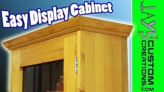 display cabinet plans free