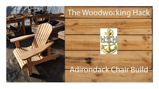 diy adirondack chair plans free
