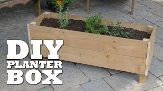 diy flower box designs
