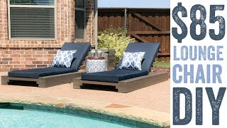 diy outdoor chaise plans