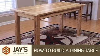 diy plans building a dining table