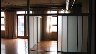 diy sliding room divider