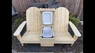 double muskoka chair plans
