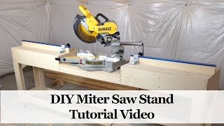 drop saw table plans