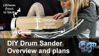 drum sander plans