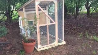 easy chicken coop ideas