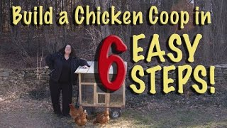 easy chicken coop plans