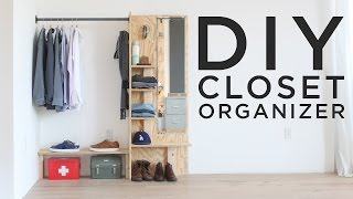 easy closet system plans