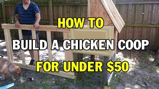 easy diy chicken coop plans
