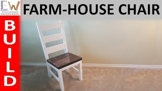 easy kitchen chair plans
