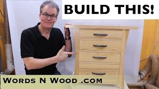 easy night stand woodworking plans