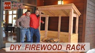 firewood storage shelter plans