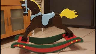 free classic rocking horse plans