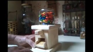 free wooden candy dispenser plans