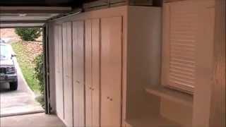 garage storage cabinet plans