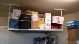 garage storage shelves costco