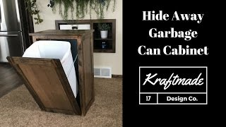 garbage can storage bin plans