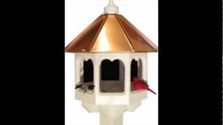 gazebo style bird feeder plans