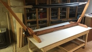 how to build a hammock stand plans