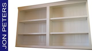 how to build a kitchen cabinet pantry