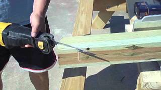 how to build an a frame porch swing