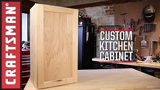 how to build kitchen cabinets video
